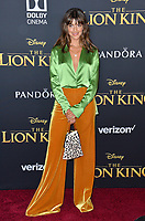 "LOS ANGELES, USA. July 10, 2019: Calu Rivero at the world premiere of Disney's ""The Lion King"" at the Dolby Theatre.<br /> Picture: Paul Smith/Featureflash"