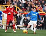 03.03.2019 Aberdeen v Rangers: Lewis Ferguson and Ryan Jack