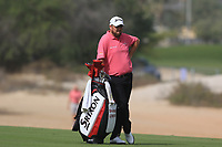 Shane Lowry (IRL) on the 3rd fairway during Round 2 of the Omega Dubai Desert Classic, Emirates Golf Club, Dubai,  United Arab Emirates. 25/01/2019<br />