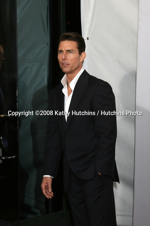 "Tom Cruise  arriving at the LA  Premiere of ""Valkyrie"" at the Director's Guild of America Theater in Los Angeles, CA on December 18, 2008.©2008 Kathy Hutchins / Hutchins Photo..                ."
