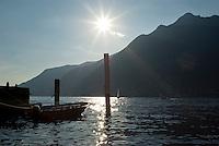 Lago di Como presso Pognana Lario --- Lake Como, near Pognana Lario