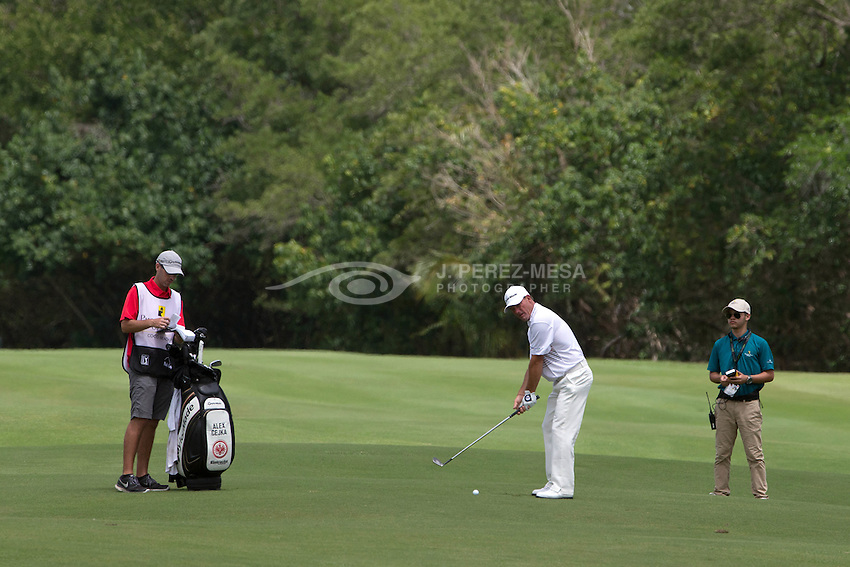 Alex Cejka, PGA tour player, at the Puerto Rico Open Pro-Am, March 23, 2016. Cjeka's goal is to revalidate his 2015 championship of the PR Open.