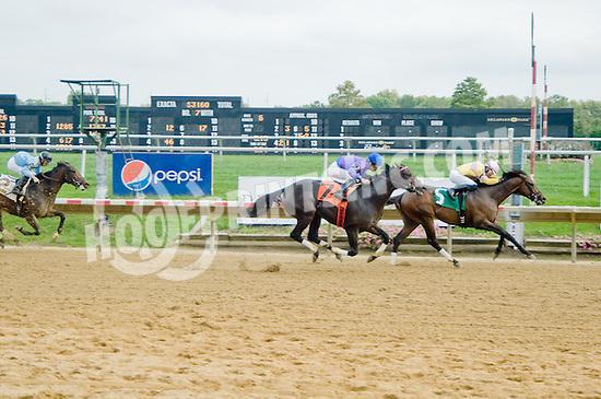Avenged winning at Delaware Park on 10/3/12