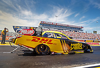 Sep 4, 2016; Clermont, IN, USA; NHRA funny car driver Del Worsham during qualifying for the US Nationals at Lucas Oil Raceway. Mandatory Credit: Mark J. Rebilas-USA TODAY Sports