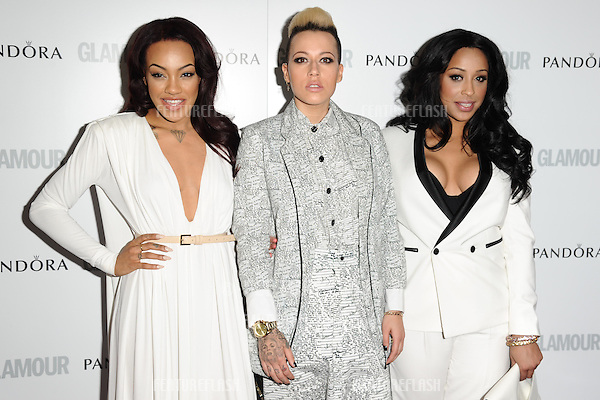 Stooshe arriving for the 013 Glamour Women of The Year Awards, Berkeley Square, London. 04/06/2013 Picture by: Steve Vas / Featureflash