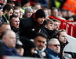Edge of the seat action for Jack Rodwell of Sheffield Utd during the Premier League match at Bramall Lane, Sheffield. Picture date: 7th March 2020. Picture credit should read: Simon Bellis/Sportimage