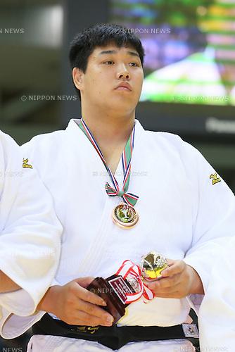 Yusei Ogawa, NOVEMBER 7, 2015 - Judo : Kodokan Cup 2015 Men's +100kg at Chiba Port Arena, Chiba, Japan. (Photo by Yohei Osada/AFLO SPORT)