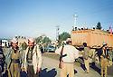 Iraq 1991 <br /> Peshmergas coming back from Iran during the uprising  <br /> Irak 1991 <br /> Peshmergas rentrant d'Iran pendant le soulevement contre le regime irakien