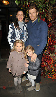 guests and Tom Aikens at the Ivy Chelsea Garden's Winter Garden launch party, The Ivy Chelsea Garden, King's Road, London, England, UK, on Sunday 05 November 2017.<br /> CAP/CAN<br /> &copy;CAN/Capital Pictures