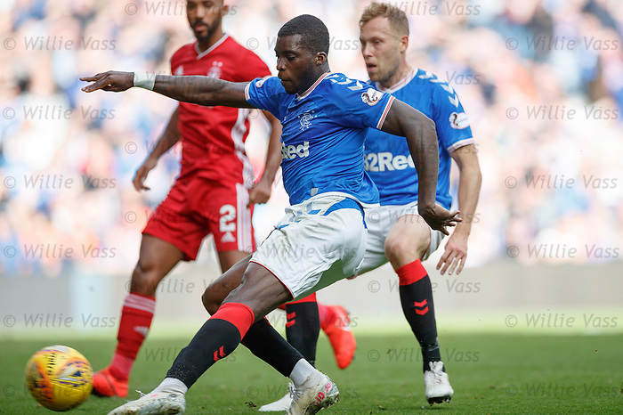 28.09.2018 Rangers v Aberdeen: Sheyi Ojo