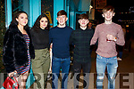 Emily Crowe, Jasmine Ryle, Rory O'Sullivan, Conor Hayes and Ryan McElligott enjoying New Years Eve in Tralee.