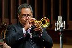 The Jon Faddis Quartet perform at the Bethany Baptist Church Jazz Vespers in Newark, NJ, with Faddis on trumpet, David Hazeltine on piano, Kiyoshi Kitagawa on bass and Dion Parson on drums.