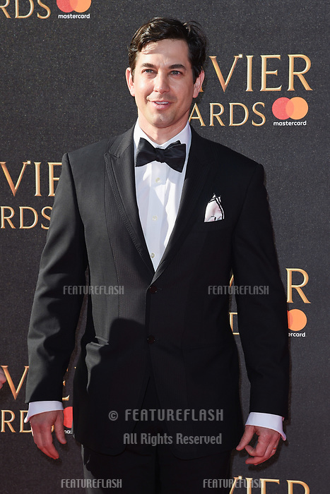 Adam Garcia at The Olivier Awards 2017 at the Royal Albert Hall, London, UK. <br /> 09 April  2017<br /> Picture: Steve Vas/Featureflash/SilverHub 0208 004 5359 sales@silverhubmedia.com