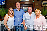 Orla Greaney, Jack Watkinson, Brendan and Deirdre Power enjoying the evening in Benners Hotel on Saturday