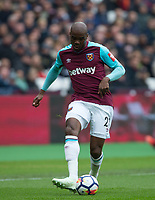 Angelo Ogbonna of West Ham United during the EPL - Premier League match between West Ham United and Southampton at the Olympic Park, London, England on 31 March 2018. Photo by Andy Rowland.