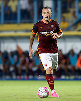 Calcio, Serie A: Frosinone vs Roma. Frosinone, stadio Comunale, 12 settembre 2015.<br /> Roma&rsquo;s Radja Nainggolan in action during the Italian Serie A football match between Frosinone and Roma at Frosinone Comunale stadium, 12 September 2015.<br /> UPDATE IMAGES PRESS/Riccardo De Luca