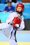 Mayu Hamada (JPN), OCTOBER 8, 2013 - Taekwondo : Tianjin 2013 the 6th East Asian Games, Women's -57kg semi-final at Dongjuzi Gymnasium, Tianjin, China. (Photo by AFLO SPORT)
