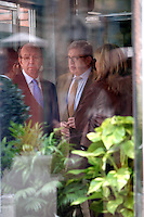 Carlos García Revenga and Cristina of Spain visit King Juan Carlos of Spain at La Milagrosa Hospital in Madrid, Spain. March 03, 2013. (ALTERPHOTOS/Caro Marin) /NortePhoto