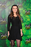 LONDON, ENGLAND - JANUARY 10: Samantha Barks attending 'Cirque du Soleil - OVO' at the Royal Albert Hall on January 10, 2018 in London, England.<br /> CAP/MAR<br /> &copy;MAR/Capital Pictures