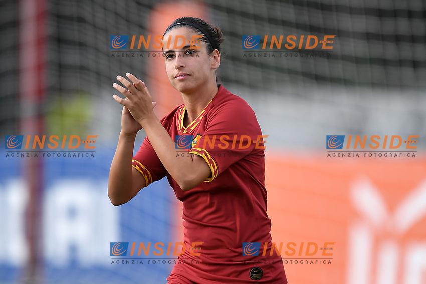 Claudia Ciccotti of AS Roma  <br /> Roma 8/9/2019 Stadio Tre Fontane <br /> Luisa Petrucci Trophy 2019<br /> AS Roma - Paris Saint Germain<br /> Photo Andrea Staccioli / Insidefoto