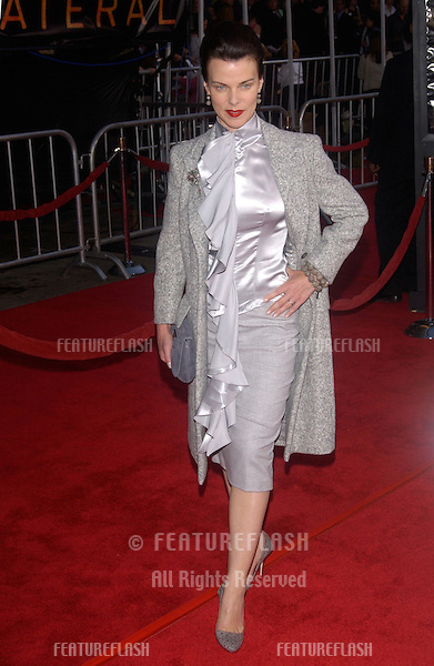 Actress DEBI MAZAR at the world premiere, in Los Angeles, of her new movie Collateral..August 2, 2004