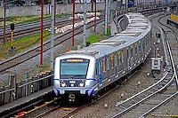 Transporte do metro em Sao Paulo. 2015. Foto de Juca Martins.