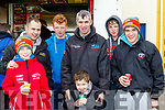 Wheel Spin<br /> ----------------<br /> Rally of the Lakes fans getting refreshments during the service halt last weekend were L-R Darragh&amp;Shane Murphy, Johnny O'Sullivan, Noel&amp;Byron Murphy, Lee Harrington with Dion Murphy-Kelly.