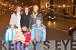 Helping Santa switch on the Christmas lights in Abbeyfeale on Sunday night were, Nicola O'Riordan, Margaret and georgina Brown, Caoimhe  Norrette, Shauna and Eliah  O'Riordan..   Copyright Kerry's Eye 2008