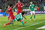 01.12.2018, Weser Stadion, Bremen, GER, 1.FBL, Werder Bremen vs FC Bayern Muenchen, <br /> <br /> DFL REGULATIONS PROHIBIT ANY USE OF PHOTOGRAPHS AS IMAGE SEQUENCES AND/OR QUASI-VIDEO.<br /> <br />  im Bild<br /> <br /> Theodor Gebre Selassie (Werder Bremen #23)<br /> Niklas S&uuml;le / Suele (FC Bayern Muenchen #04)<br /> #wb30<br /> <br /> Foto &copy; nordphoto / Kokenge