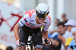 Richie Porte (AUS) Trek-Segafredo on the 17% climb during Stage 13 of the 2019 Tour de France an individual time trial running 27.2km from Pau to Pau, France. 19th July 2019.<br /> Picture: Colin Flockton | Cyclefile<br /> All photos usage must carry mandatory copyright credit (© Cyclefile | Colin Flockton)