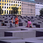 Europe, DEU, Germany, Berlin, Holocaust Memorial. ....[ For each utilisation of my images my General Terms and Conditions are mandatory. Usage only against use message and proof. Download of my General Terms and Conditions under http://www.image-box.com or ask for sending. A clearance before usage is necessary...Material is subject to royalties. Each utilisation of my images is subject to a fee in accordance to the present valid MFM-List...Contact | archive@image-box.com | www.image-box.com ]
