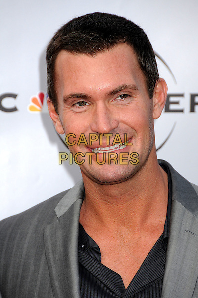 "JEFF LEWIS.The Cable Show 2010 ""An Evening with NBC Universal"" held at Universal Studios Hollywood, Universal City, California, USA..May 12th, 2010.headshot portrait black grey gray .CAP/ADM/BP.©Byron Purvis/AdMedia/Capital Pictures."