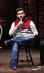 Neil Haskell during the eduHAM Q & A with the cast of Broadway's 'Hamilton' at The Richard Rodgers Theatre on April 25, 2018 in New York City.