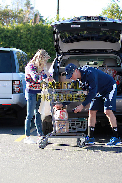 Brentwood, California, DEC 13: Reese Witherspoon &amp; Jim Toth doing some shopping together at Bristol Farmers Market in Brentwood, December 13th 2014, Los Angeles, CA, USA. <br />  CAP/MPI/JM<br /> &copy;John Misa/MediaPunch/Capital Pictures