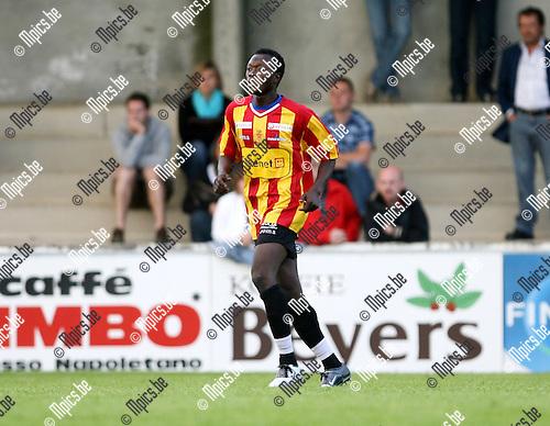 2008-07-20 / Voetbal / Seizoen 2008-2009 / K.V. Mechelen /  Abdul-Yakino Iddi..Foto: Maarten Straetemans (SMB)