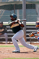 Tyreace House  - Oakland Athletics - 2009 extended spring training.Photo by:  Bill Mitchell/Four Seam Images