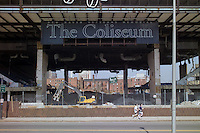 New Haven Coliseum - Old, and Older, Building Photographs