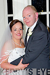Patricia O'Sullivan, Killorglin daughter of Ann and the late Dave, and Gerard Murphy, Killorglin son of John and Eileen who were married in St James church, Killorglin on Friday, Fr Michael Fleming officiated at the ceremony, best man was JJ Murphy, groomsmen were Alan, Pa and Mike Murphy, Matron of honor was Louise O'Shea, bridesmaids were Fiona and Sinead O'Shea and Nicola Murphy, page boys were John, Ryan and Morgan Murphy, flowergirls were Sarah Murphy and Roisin Kissane, the reception was held in the Killarney Heights  Hotel
