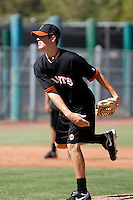 Zack Wheeler - San Francisco Giants 2009 Instructional League. .Photo by:  Bill Mitchell/Four Seam Images..