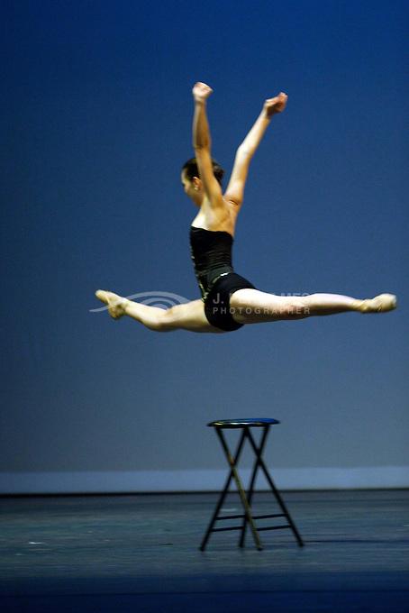 "Western Ballet Teater's ""Tangos"", director and choreographer Nana Badrena with music of Argentinian composer/singer Nacha Guevara. Dancers: Yamilette Padilla, Gina Battista, Dillon Shirferly and David Soler."