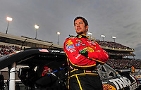 May 2, 2009; Richmond, VA, USA; NASCAR Sprint Cup Series driver Martin Truex Jr prior to the Russ Friedman 400 at the Richmond International Raceway. Mandatory Credit: Mark J. Rebilas-
