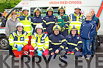 Members of Kerry Emergency Services taking part in the Hero's Weekend in Tralee on Saturday.<br /> Front row: Sean O'Callaghan, Red Cross, Pierce Heaslip, Red Cross, Nicky Brunton Fireservice, Dary Farrelly, Fireservice.<br /> Back row: Niamh Sheehan, Red Cross, David Heaslip, Red Cross, Paul Colleran, Meath Fireservice, Steven Curran, Meath Fireservice, John Hetherton, Meath Fireservice, D.J O'Callaghan, Red Cross, Christine O'Halloran, Red Cross, Lenard Mangan, Red Cross.