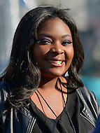 May 25, 2013  (Washington, DC) Candice Glover,  American Idol season 12 winner, poses for a photo after her rehearsal for the National Memorial Day Concert May 25, 2013.   (Photo by Don Baxter/Media Images International)