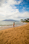 Mokapu beach that fronts the Andaz hotel in Wailea, Maui, Hawaii