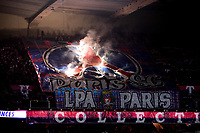 supporters du PSG - Ambiance - tifo<br /> 22/11/2019<br /> Paris Saint Germain PSG - Lille<br /> Calcio Ligue 1 2019/202 <br /> Foto JB Autissier Panoramic/insidefoto <br /> ITALY ONLY