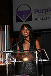 Allstate Foundation Purple Purse ambassador Kerry Washington will unveil her new, limited-edition purse design