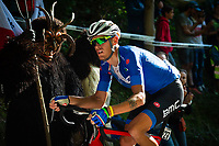 Picture by Richard Blaxall/SWpix.com - 30/09/2018 - Cycling 2018 Road Cycling World Championships Innsbruck-Tirol, Austria - Men's Elite Road Race - Alessandro de Marchi of Italy on the Ride to Höll (Hell Climb)
