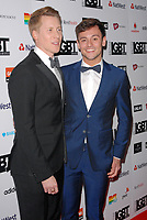 www.acepixs.com<br /> <br /> May 12 2017, London<br /> <br /> Tom Daley &amp; Dustin Lance Black arriving at the annual British LGBT awards at the Grand Connaught Rooms on May 12 2017 in London<br /> <br /> By Line: Famous/ACE Pictures<br /> <br /> <br /> ACE Pictures Inc<br /> Tel: 6467670430<br /> Email: info@acepixs.com<br /> www.acepixs.com