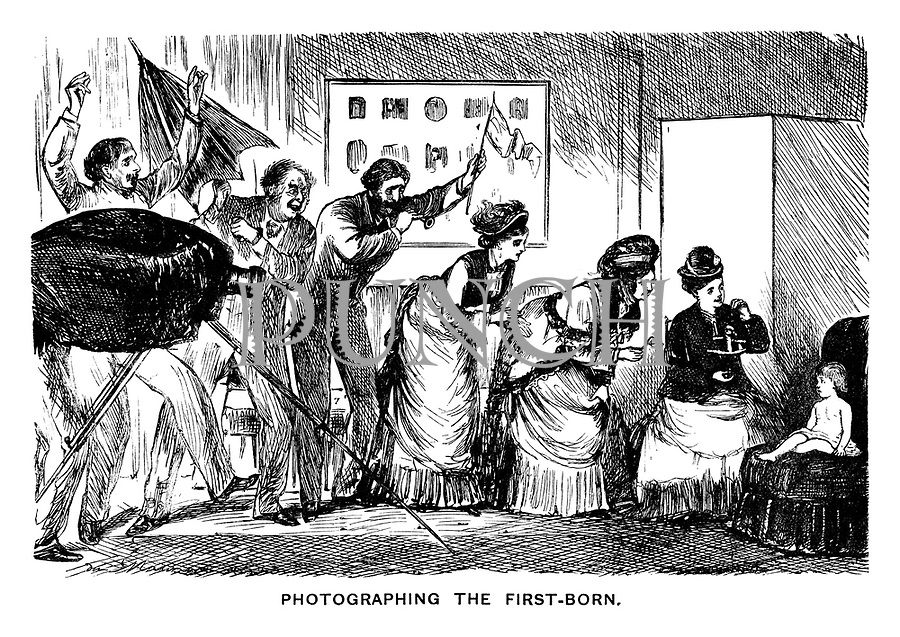 Photographing the First-Born.