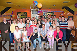 21st: Kieran Galvin, Ballyeigh, Ballybunion(seated centre) who on Saturday night celebrated his 21st Birthday with Family and friends, in the Railway Bar, Ballybunion..   Copyright Kerry's Eye 2008